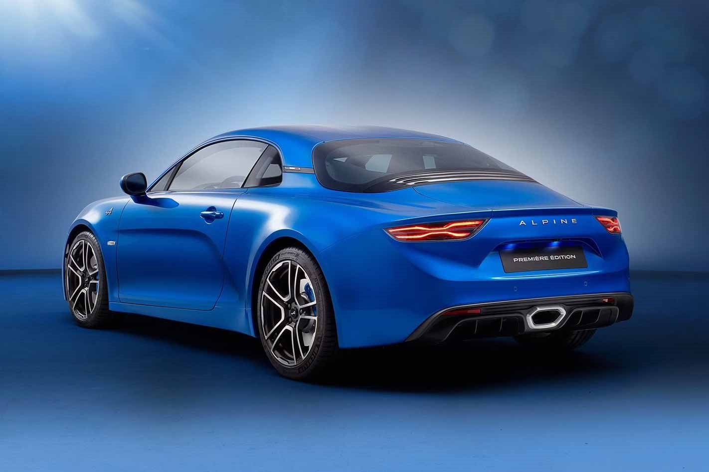 2018 Alpine A110 rear