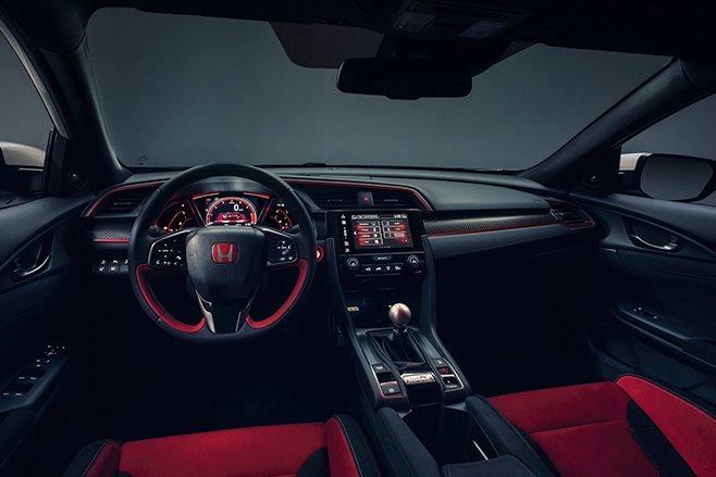 2018 Honda Civic Type R interior