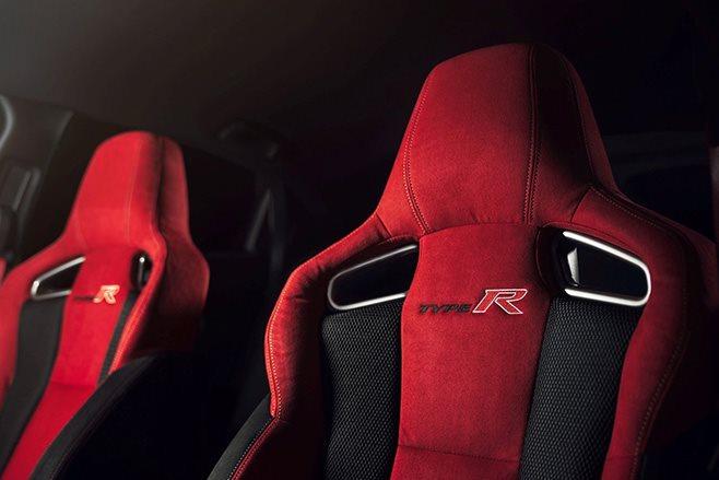 2018 Honda Civic Type R seats