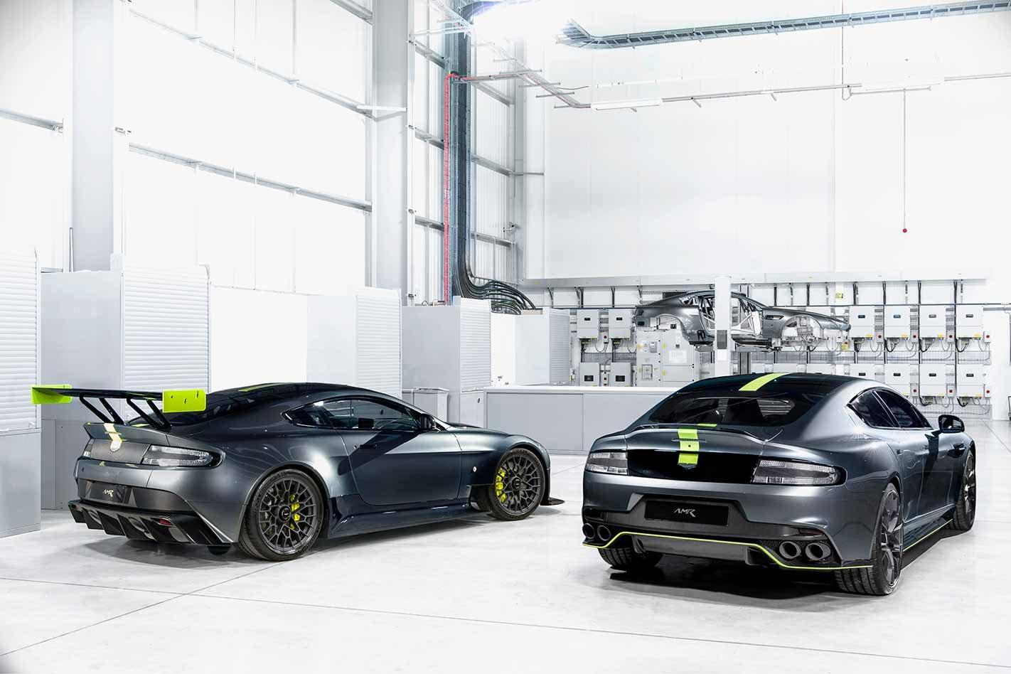 Aston Martin AMR rear