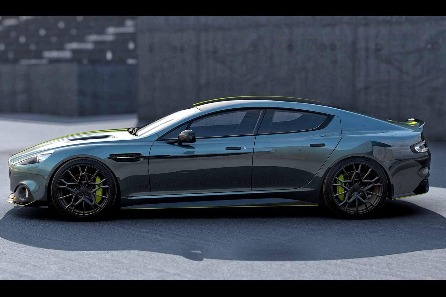 Aston Martin Rapide AMR profile