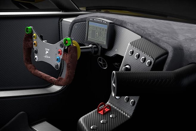 Pininfarina Fittipaldi EF7  interior