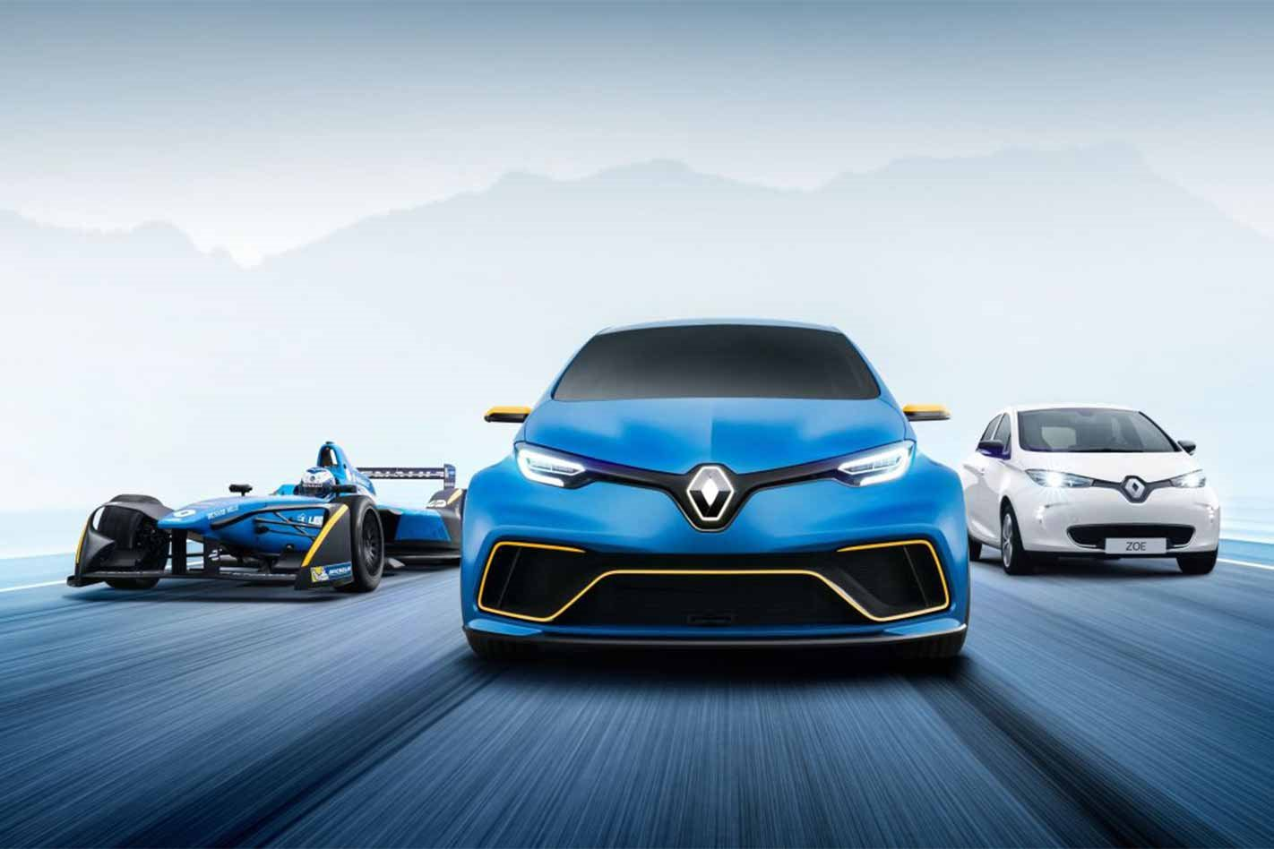 Renault Zoe e-Sport Concept group