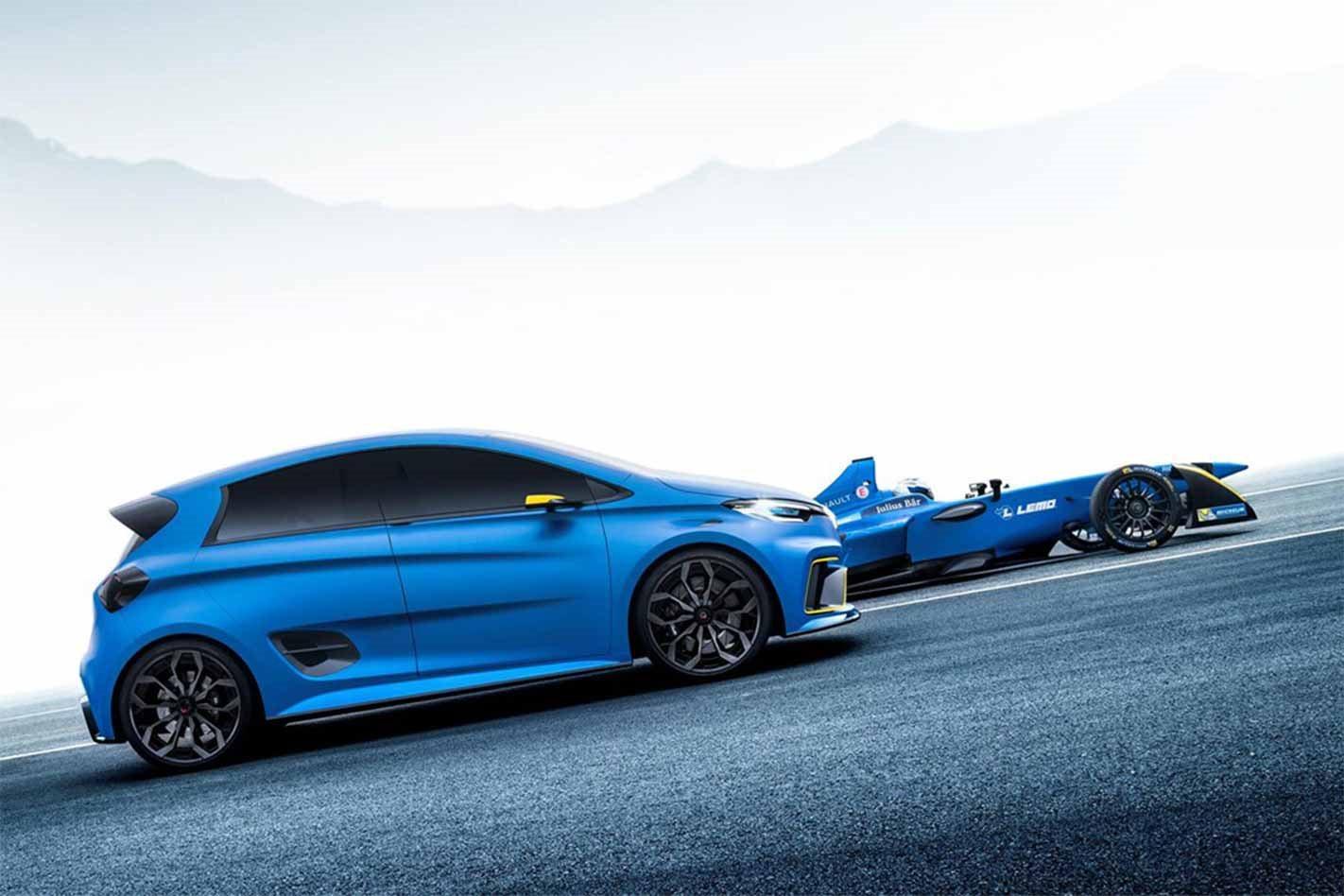 Renault Zoe e-Sport concept profile