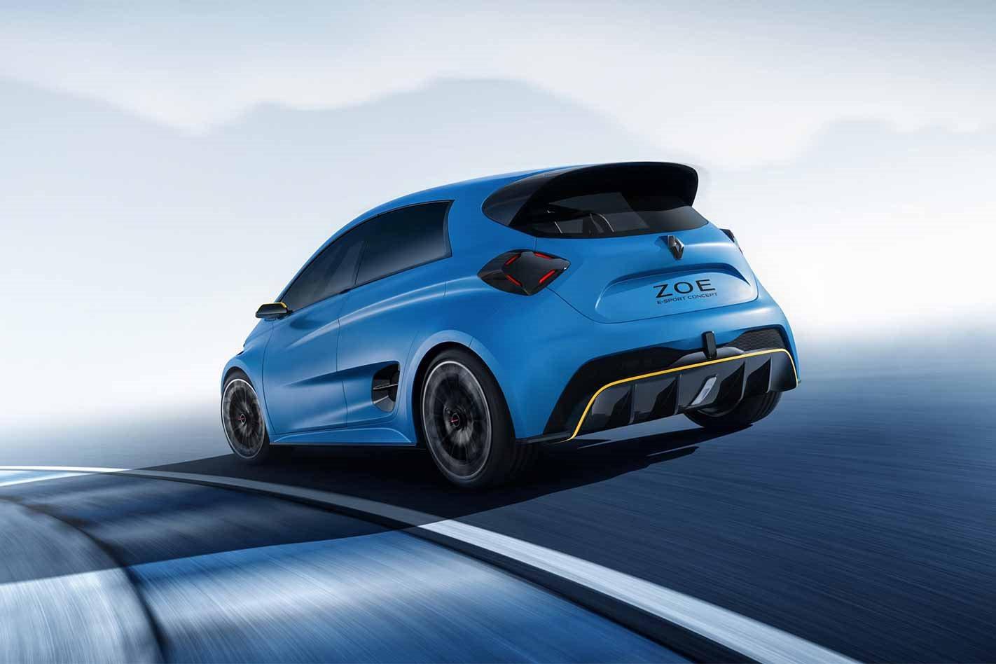 Renault Zoe e-Sport concept rear