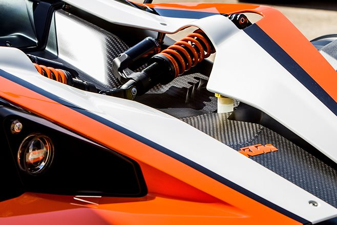 KTM X Bow shocks