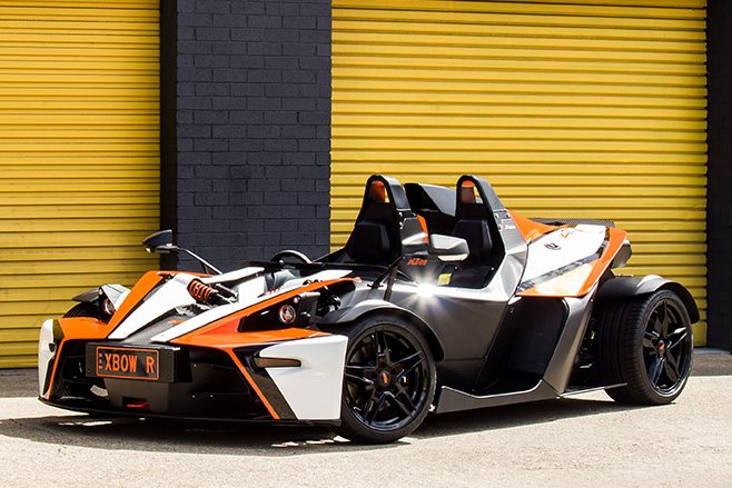 KTM X Bow front
