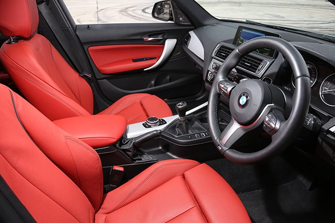 2017 BMW M140i interior