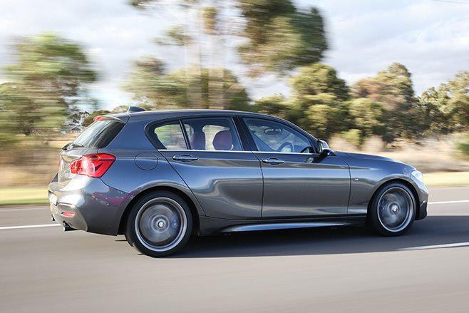 2017 BMW M140i rear side
