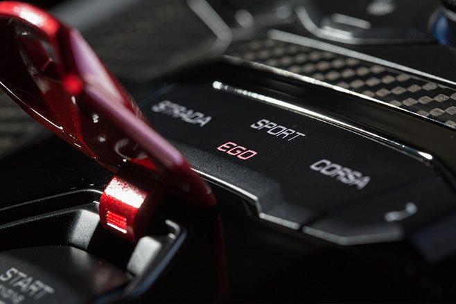 2017 Lamborghini Aventador S drive modes