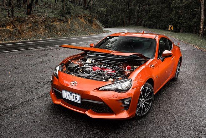 2017 Toyota 86 GTS engine