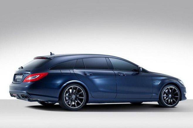 Mercedes-AMG CLS63 Shooting Brake