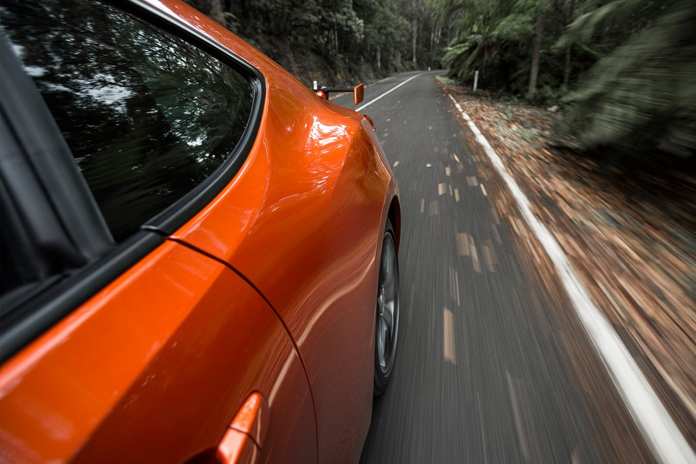 Toyota 86 on road