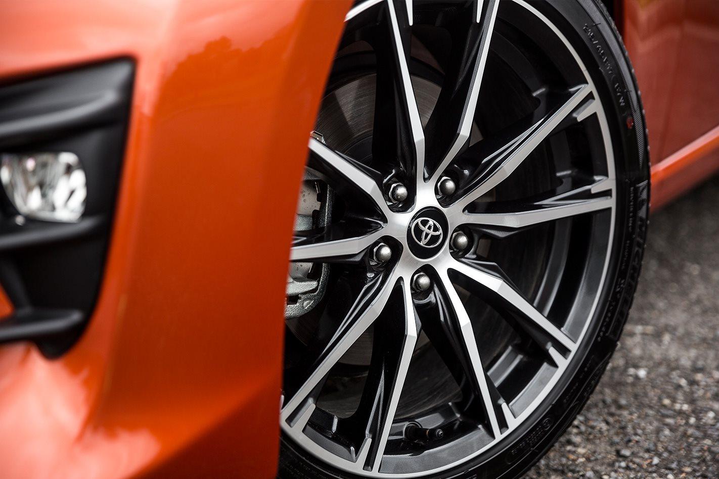 2017 Toyota 86 GTS tyre