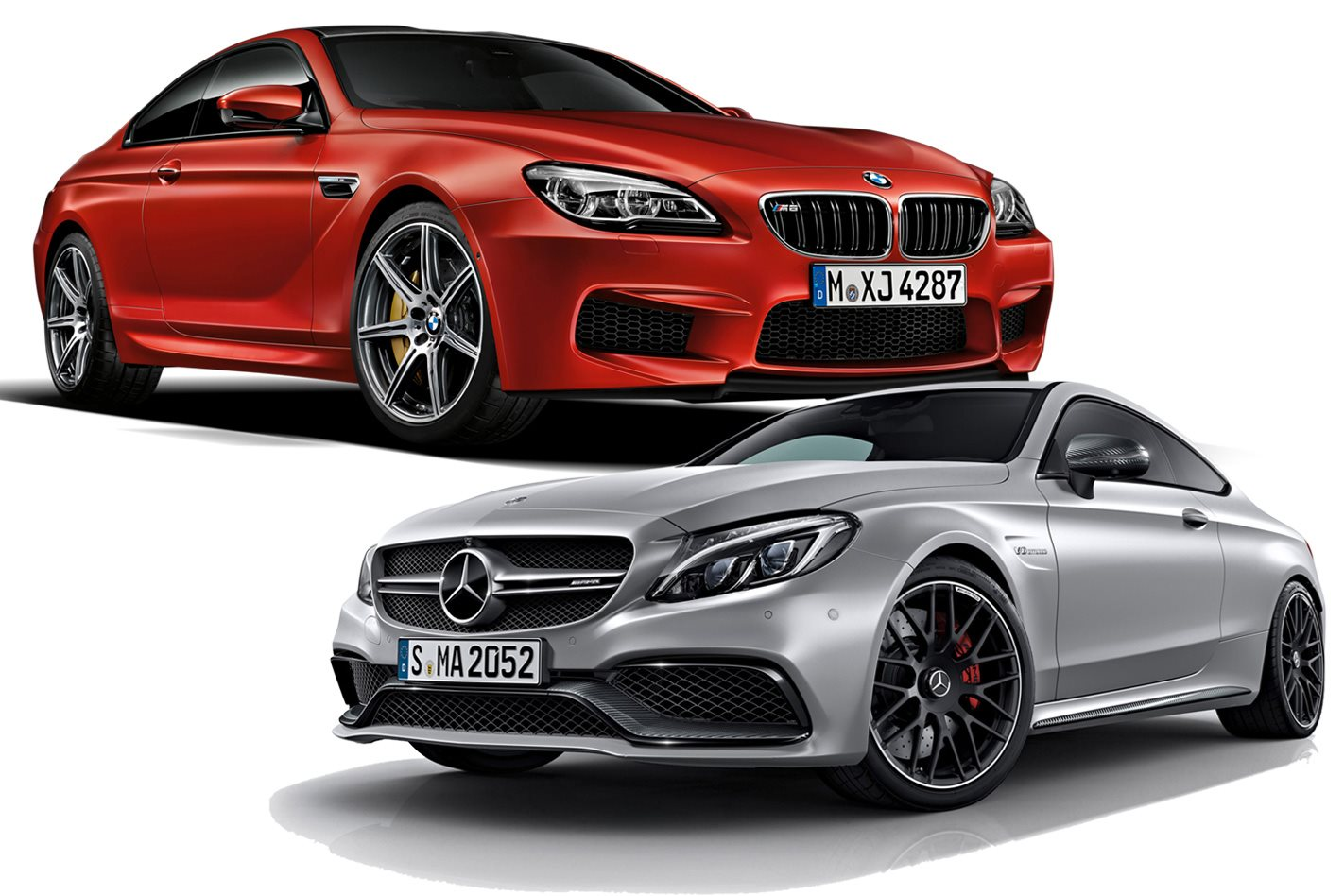new vs used mercedes amg c63 coupe vs bmw m6 competition. Black Bedroom Furniture Sets. Home Design Ideas