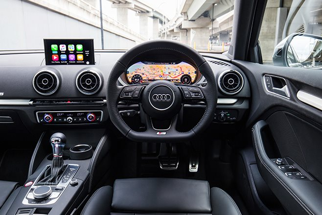 2017 Audi S3 interior