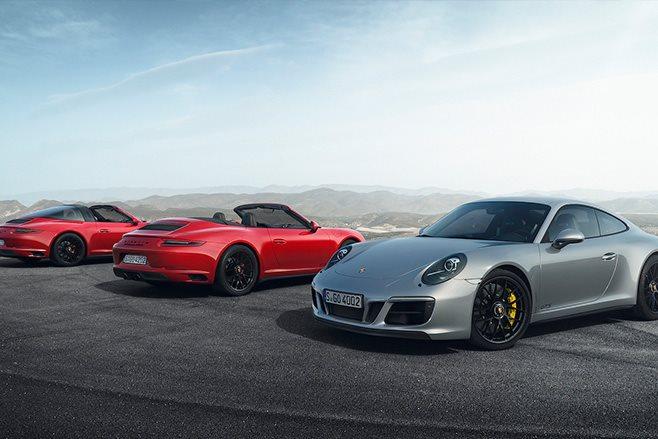 Porsche 2016 range