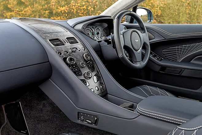 2017 Aston Martin Vanquish S interior