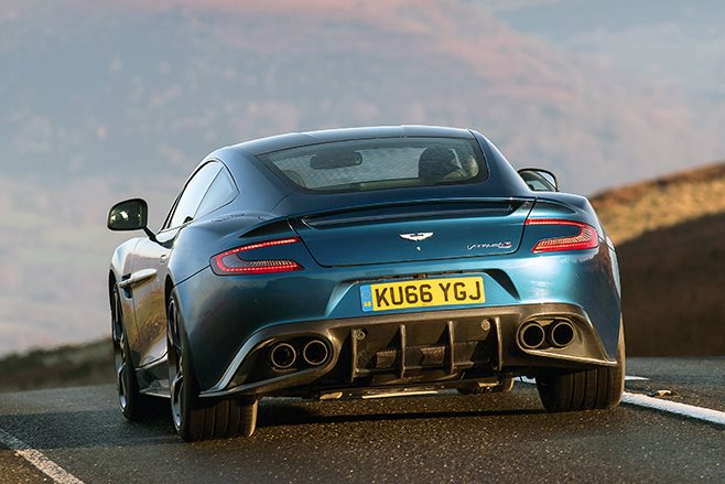 2017 Aston Martin Vanquish S rear