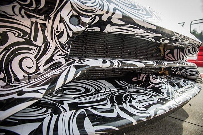 Lamborghini Huracan Performante front bumper