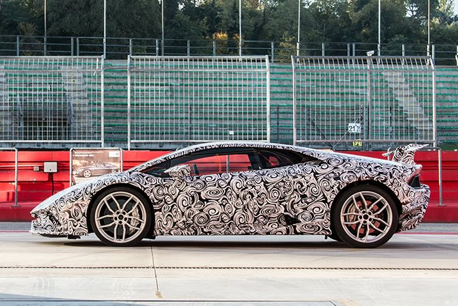 Lamborghini Huracan Performante side