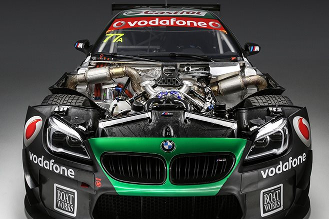 BMW M6 GT3 front engine