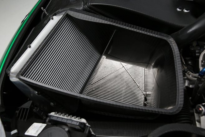 extraction vent for radiators and intercoolers