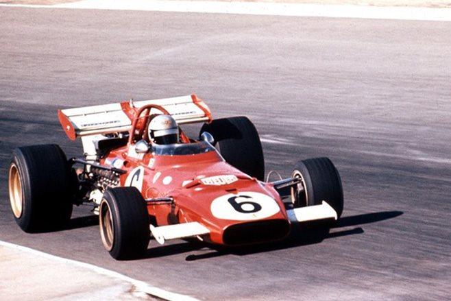 1971 Ferrari 312 B Red Boxer F1