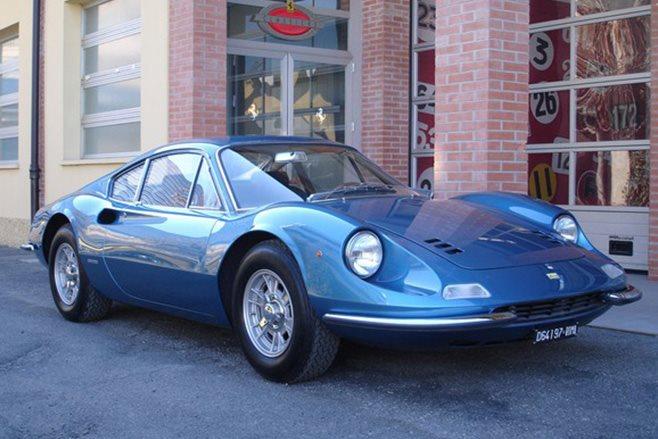 1971 Ferrari Azzurro Dino 246 GT