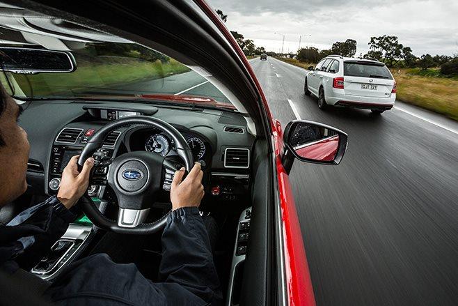 driving the Levorg