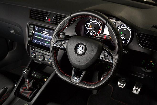 Skoda Octavia RS230 interior