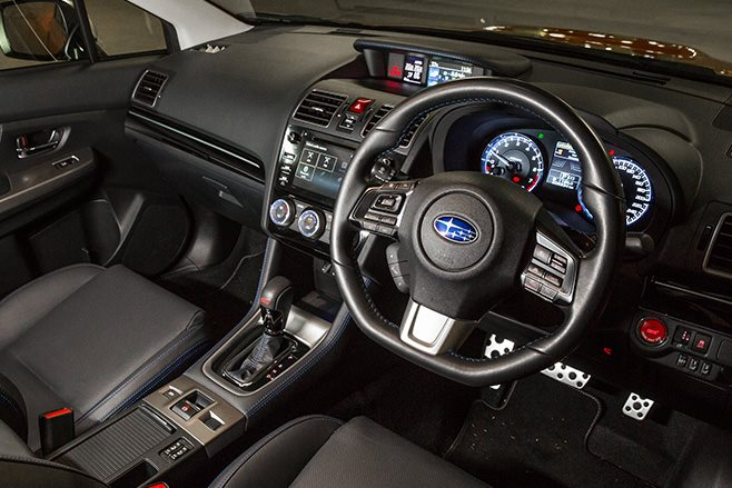 Subaru Levorg GT-S interior
