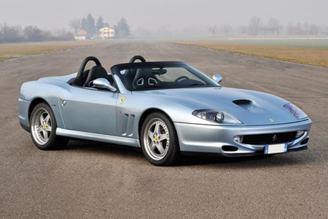 2000 Ferrari 550 Barchetta Pininfarina