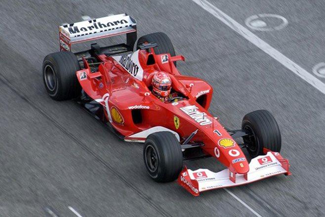 2003 Ferrari F2003-GA F1