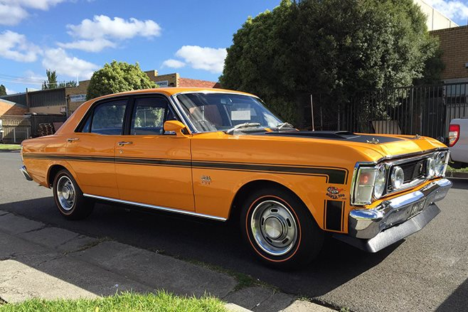 Ford Falcon Gt Ho Phase Ii Orange