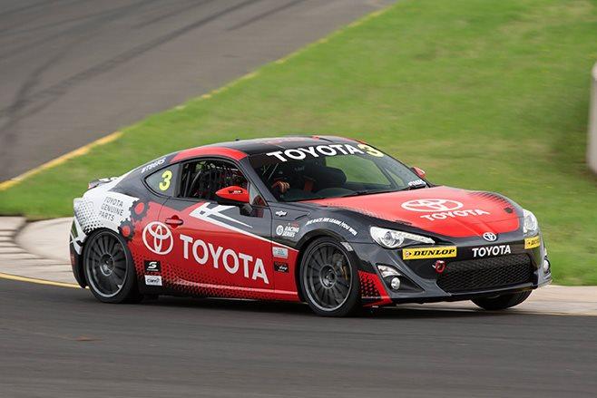 Toyota 86 Racing dark grey