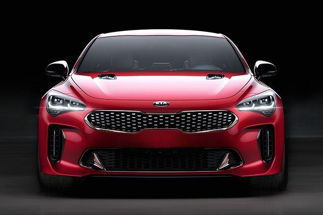 2018 Kia Stinger GT front