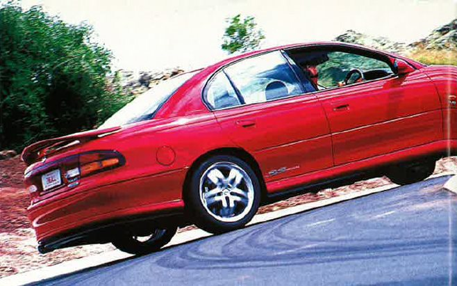 Rusell Ingalls 1998 Holden Commodore SS VT rear