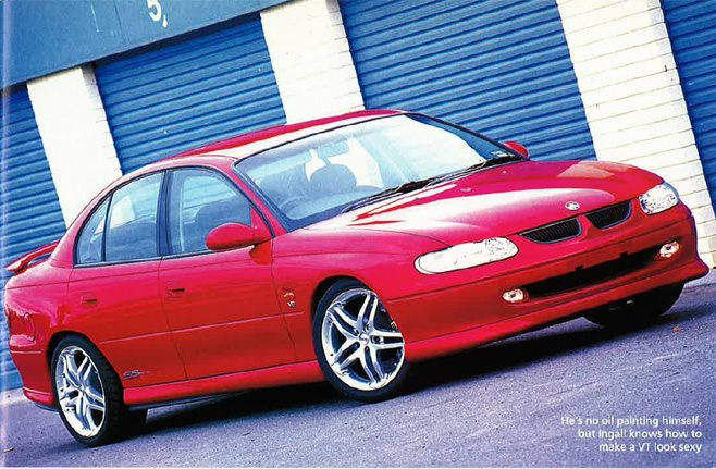 Rusell Ingalls 1998 Holden Commodore SS VT