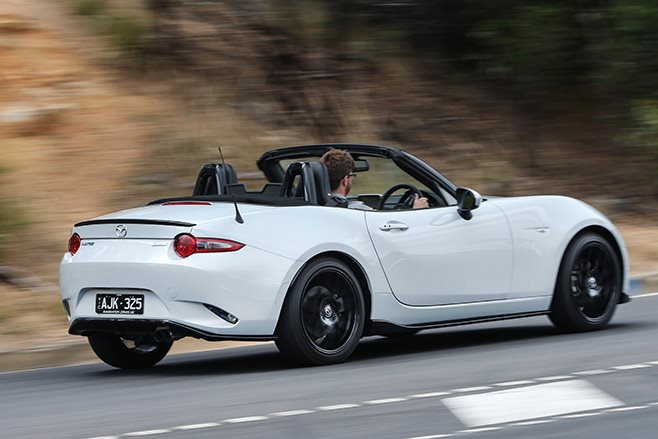 2016 Mazda MX-5 rear driving