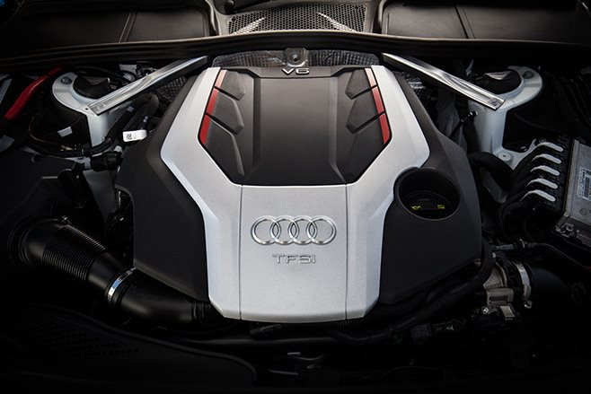 2017 Audi S5 coupe engine