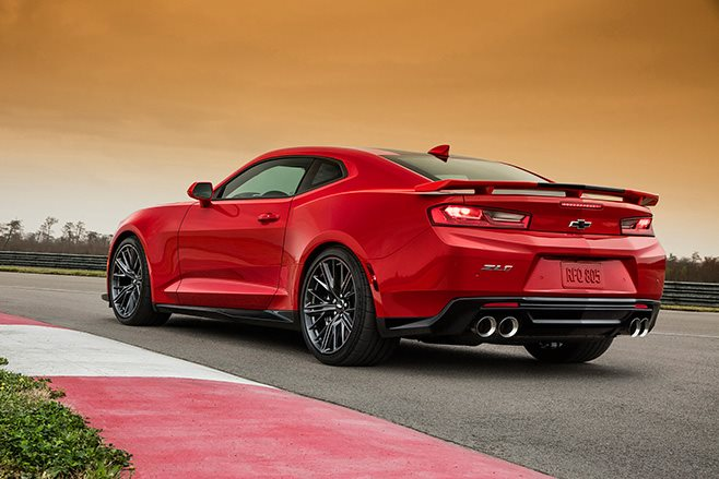 Chevrolet Camaro ZL1 rear