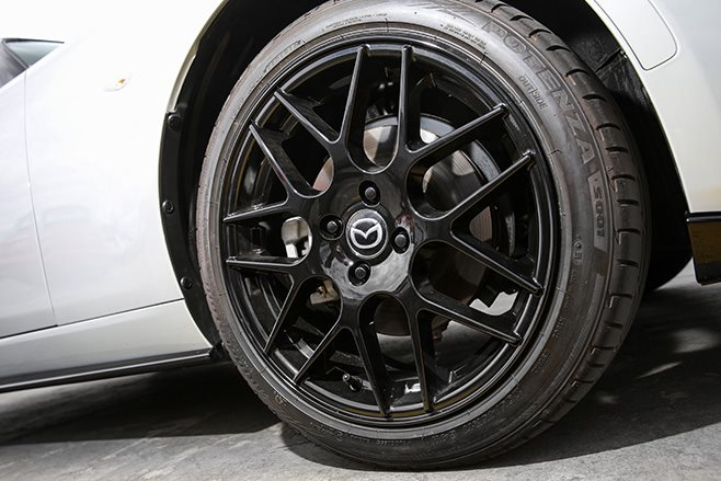 Mazda MX-5 17 nch rims