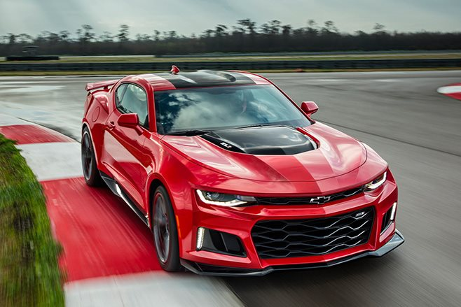Right hand drive Chevrolet Camaro ZL1 available for 150K