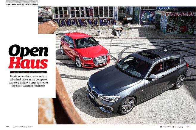 Audi S3 vs BMW M140i