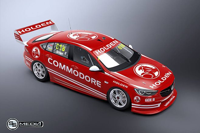 Holden NG Commodore supercar side