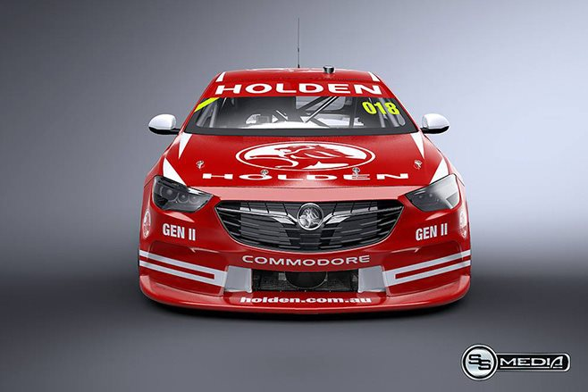 NG Commodore supercar front
