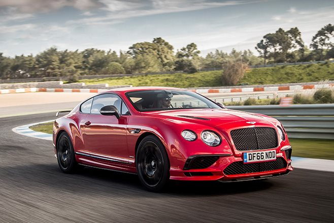 2017 Bentley Continental Supersports driving