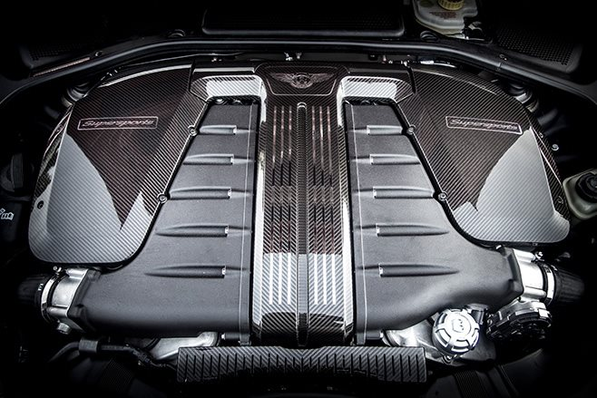 2017 Bentley Continental Supersports engine