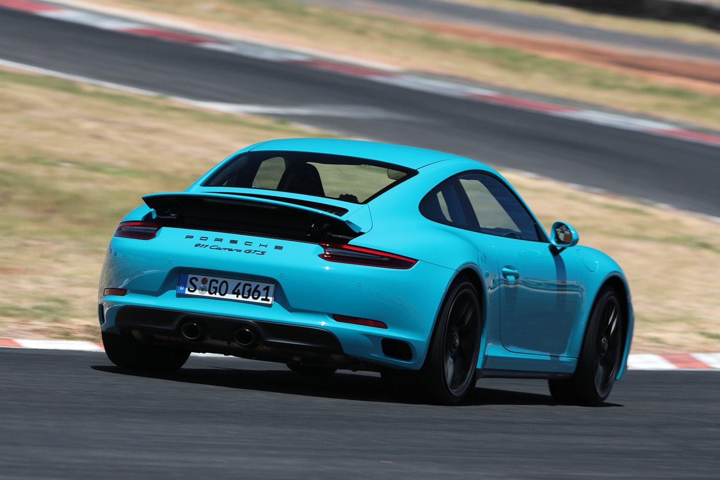 2017 Porsche 911 GTS rear